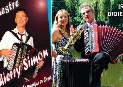 ANDALOUSIE avec 2 ORCHESTRES Didier et Irma GILBERT et THIERRY SIMON
