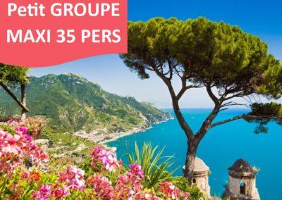 ROME et LA COTE AMALFITAINE du 4 au 11 juin 2021